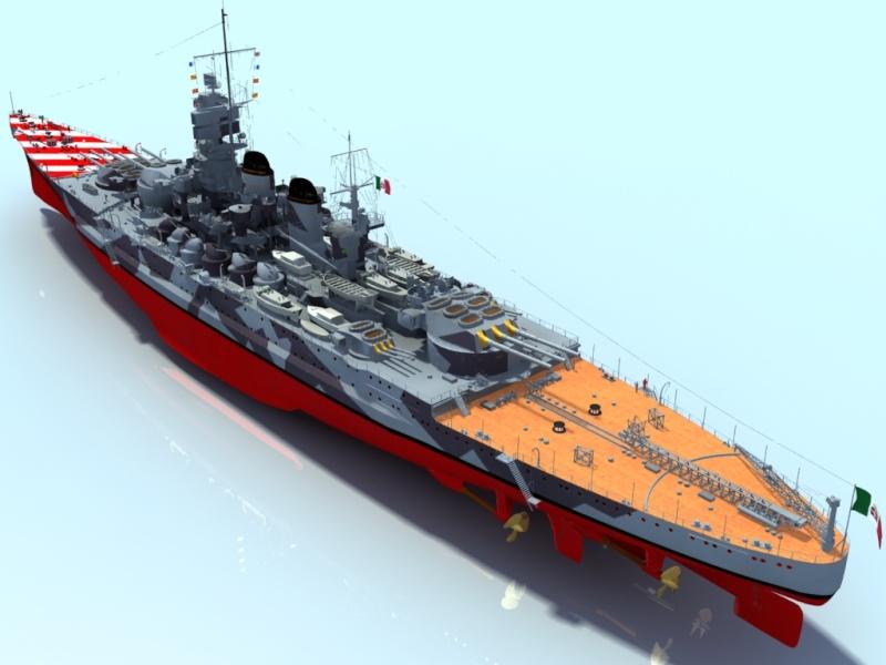 Regia Marina Italian Heavy Cruiser 'Pola' Roma3910