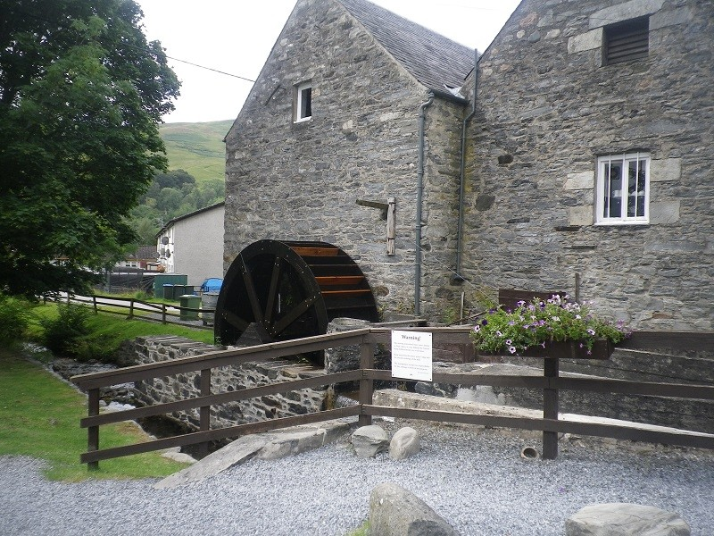 Blair Atholl water mill. (Perthshire, near Pitlochry) Ba110