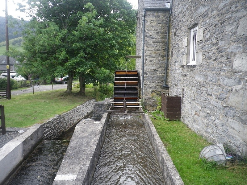 Blair Atholl water mill. (Perthshire, near Pitlochry) Ba410