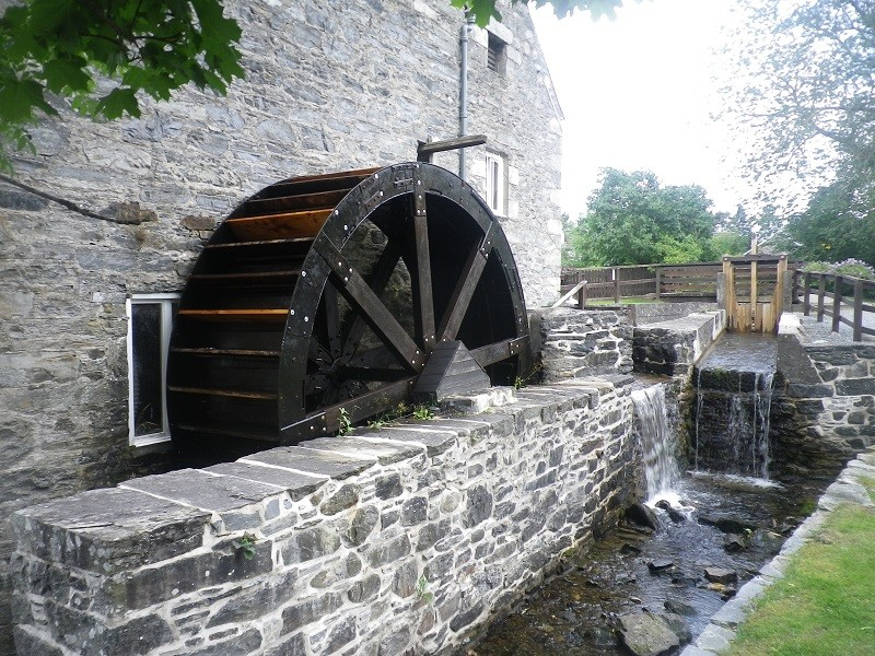Blair Atholl water mill. (Perthshire, near Pitlochry) Ba710