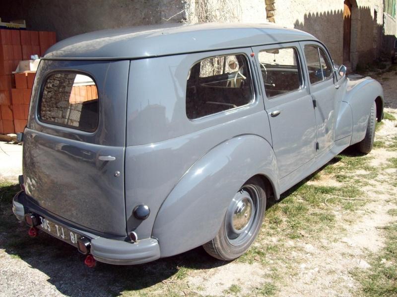 Mon autre Peugeot, une 203 commmerciale ... Arriar10