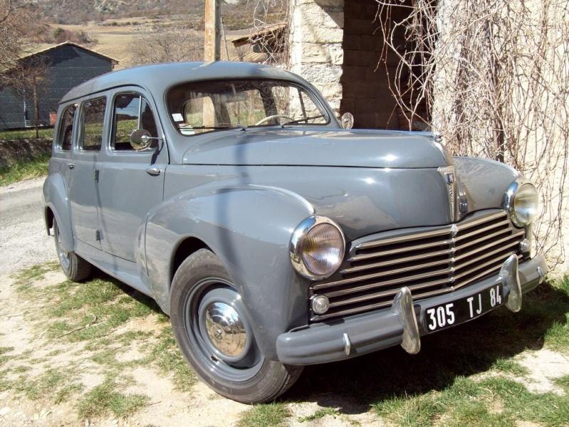 Mon autre Peugeot, une 203 commmerciale ... Avant10