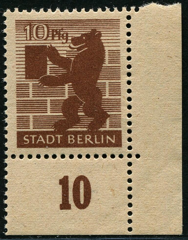Berlin Brandenburg Mi#4a/b 4_a_a_10