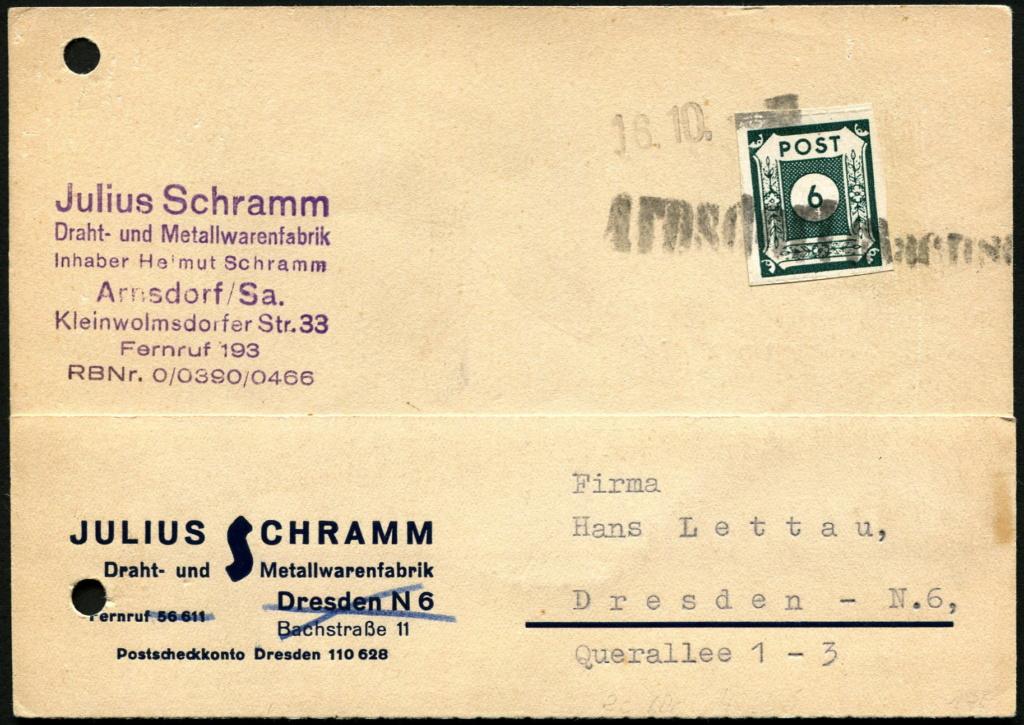 Ostsachsen (OPD Dresden) -Sowjetische Besatzungszone- - Seite 15 Beleg_11