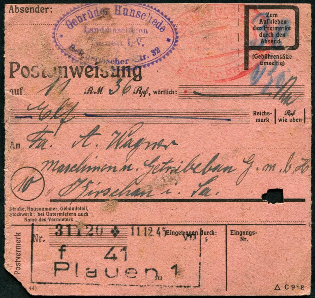 Ostsachsen (OPD Dresden) -Sowjetische Besatzungszone- - Seite 20 Beleg_28