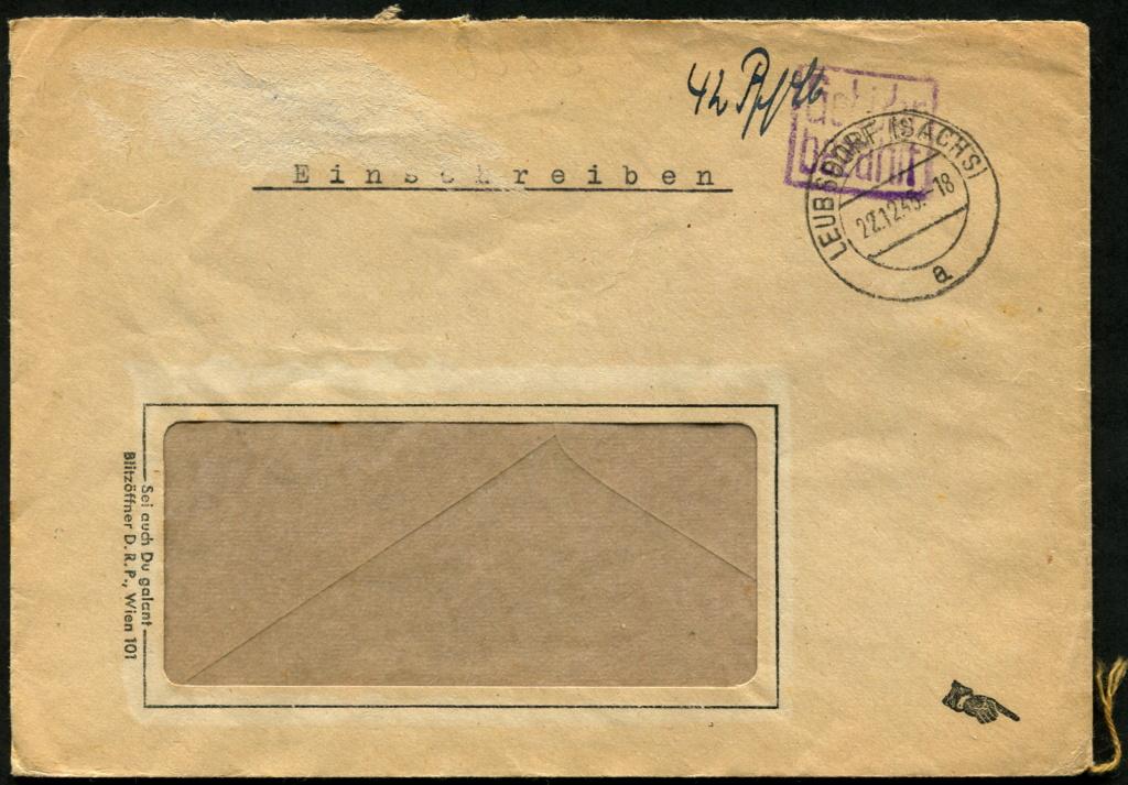 Ostsachsen (OPD Dresden) -Sowjetische Besatzungszone- - Seite 20 Gebzhr38