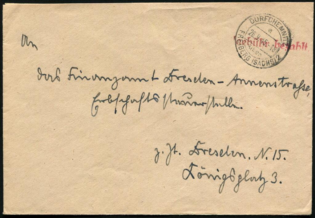 Ostsachsen (OPD Dresden) -Sowjetische Besatzungszone- - Seite 15 Postst11