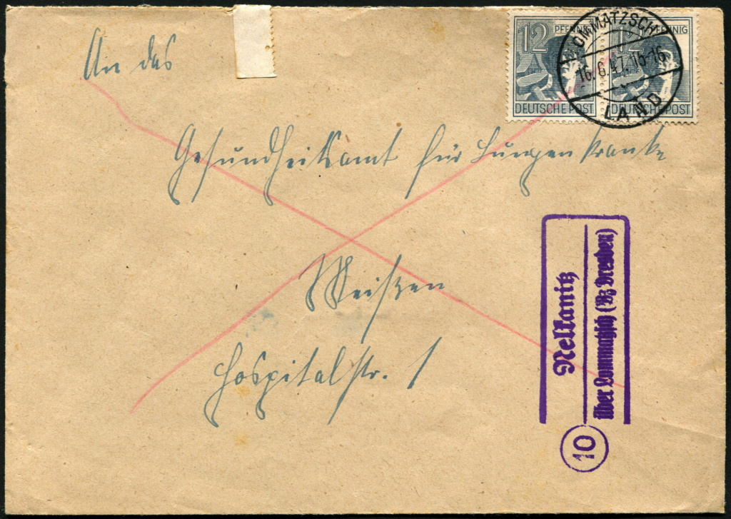Ostsachsen (OPD Dresden) -Sowjetische Besatzungszone- - Seite 15 Postst16