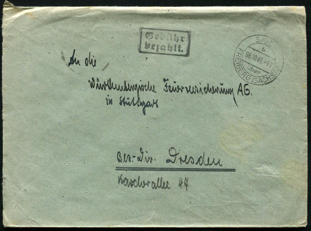 Zone - Ostsachsen (OPD Dresden) -Sowjetische Besatzungszone- - Seite 16 Postst19