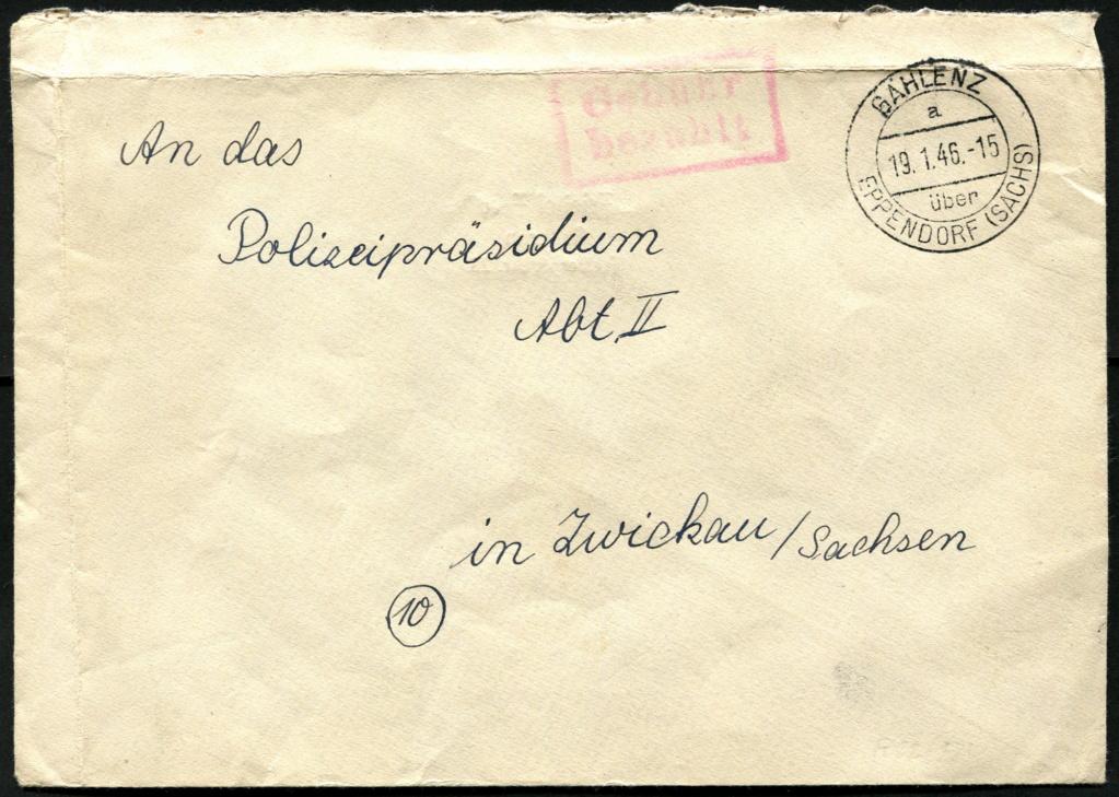 Zone - Ostsachsen (OPD Dresden) -Sowjetische Besatzungszone- - Seite 16 Postst23