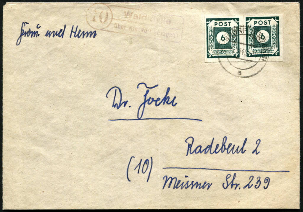 Zone - Ostsachsen (OPD Dresden) -Sowjetische Besatzungszone- - Seite 16 Postst24