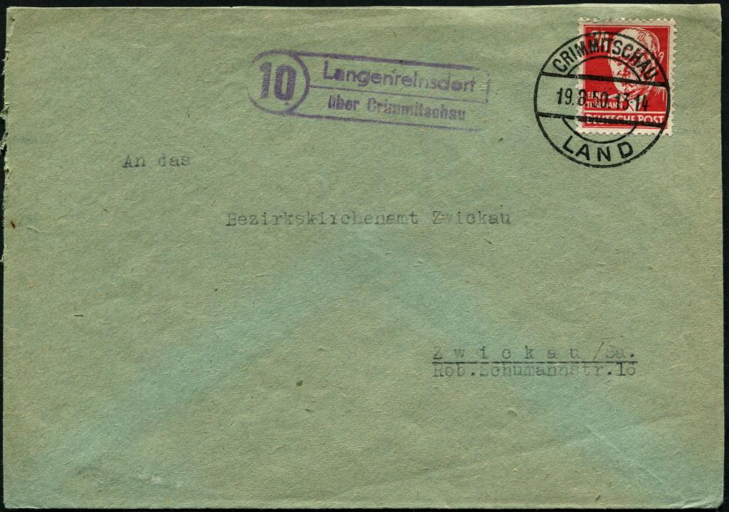 Zone - Ostsachsen (OPD Dresden) -Sowjetische Besatzungszone- - Seite 16 Postst26