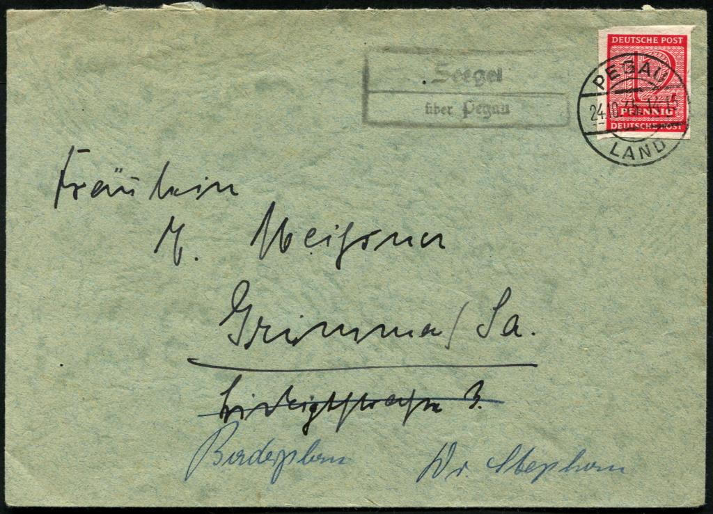 Westsachsen (OPD Leipzig) -Sowjetische Besatzungszone- - Seite 2 Postst27