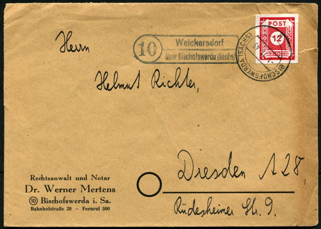 Zone - Ostsachsen (OPD Dresden) -Sowjetische Besatzungszone- - Seite 16 Postst28