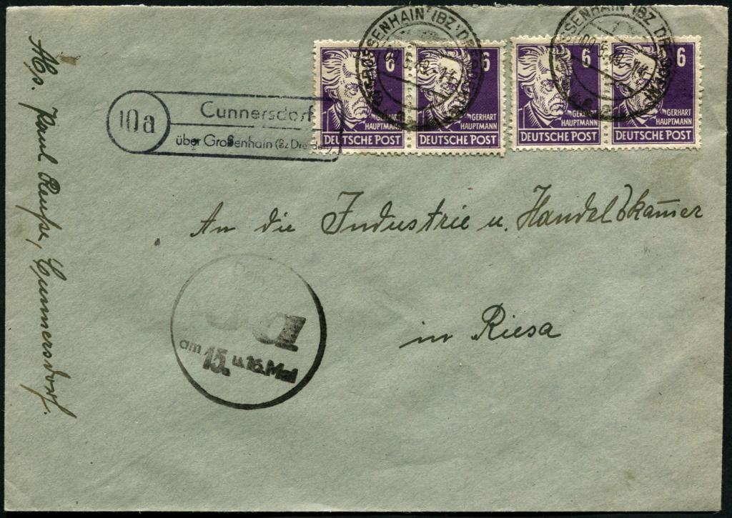 Ostsachsen (OPD Dresden) -Sowjetische Besatzungszone- - Seite 17 Postst30