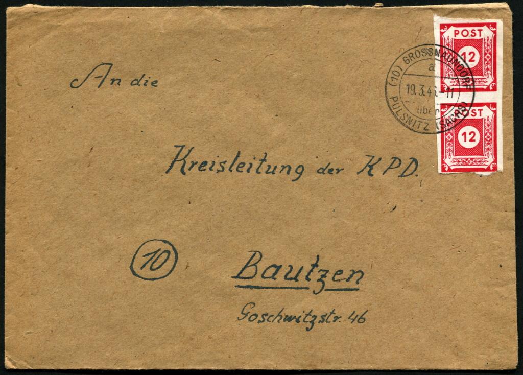 Ostsachsen (OPD Dresden) -Sowjetische Besatzungszone- - Seite 17 Postst31
