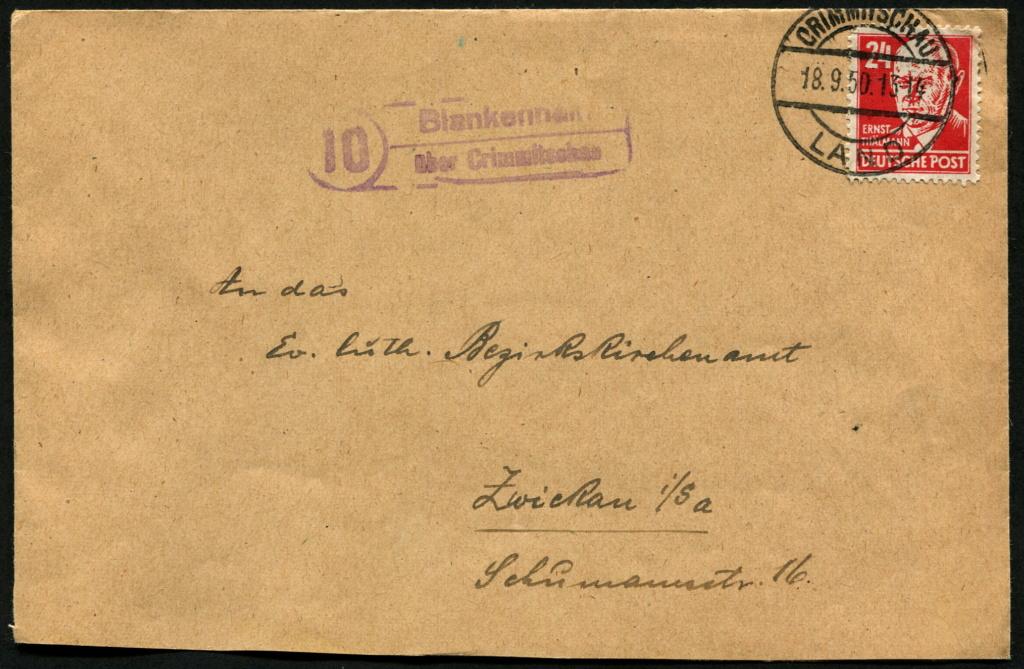 Ostsachsen (OPD Dresden) -Sowjetische Besatzungszone- - Seite 17 Postst32