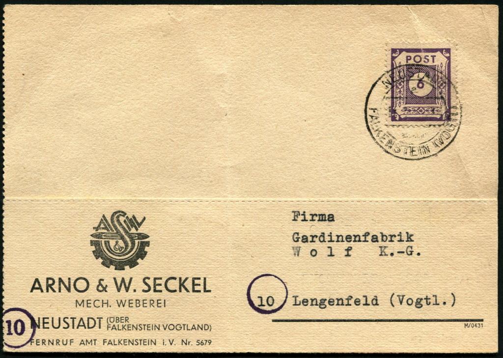 Ostsachsen (OPD Dresden) -Sowjetische Besatzungszone- - Seite 17 Postst35