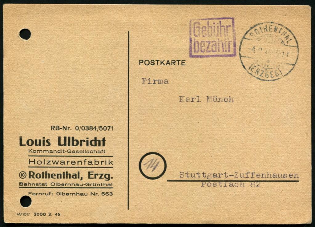Ostsachsen (OPD Dresden) -Sowjetische Besatzungszone- - Seite 18 Postst44