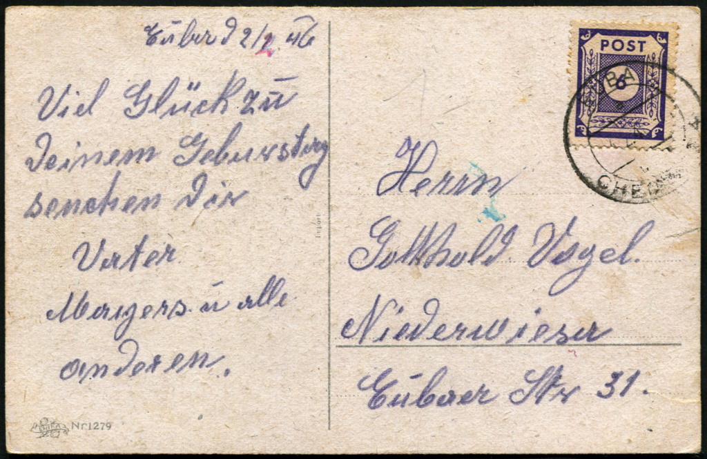 Ostsachsen (OPD Dresden) -Sowjetische Besatzungszone- - Seite 18 Postst51