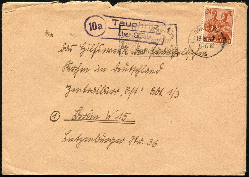 Ostsachsen (OPD Dresden) -Sowjetische Besatzungszone- - Seite 18 Postst52