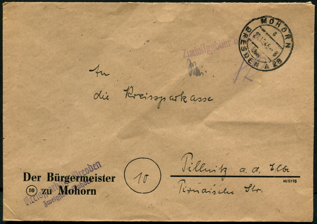 Ostsachsen (OPD Dresden) -Sowjetische Besatzungszone- - Seite 19 Postst66