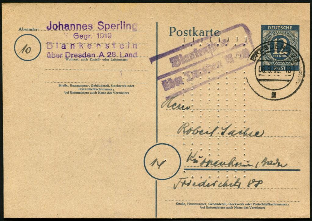 Ostsachsen (OPD Dresden) -Sowjetische Besatzungszone- - Seite 20 Postst67
