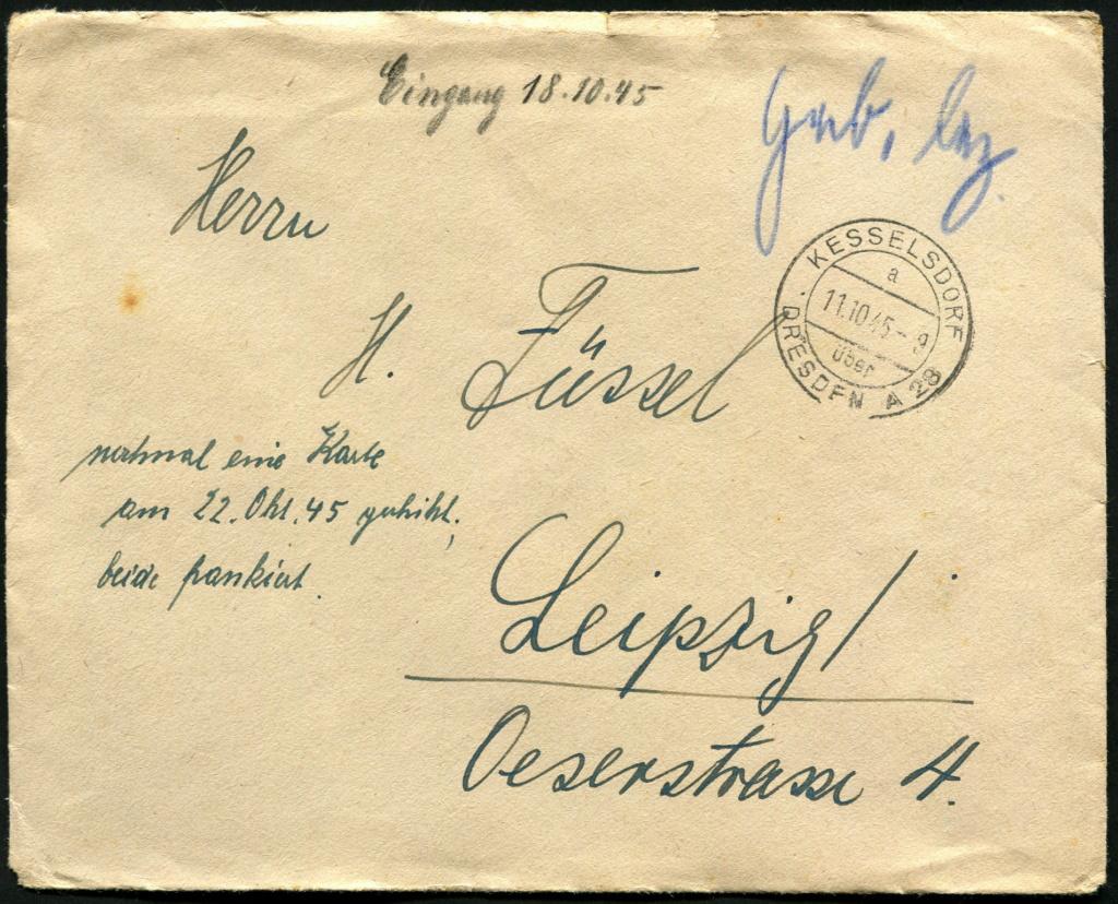 Ostsachsen (OPD Dresden) -Sowjetische Besatzungszone- - Seite 20 Postst72