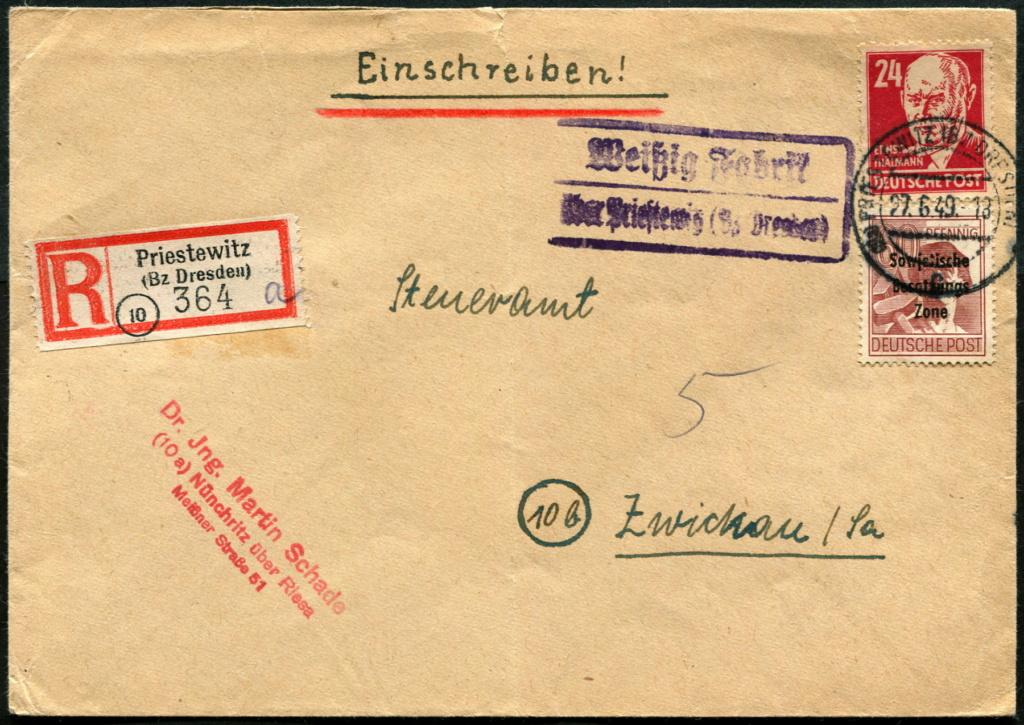 Ostsachsen (OPD Dresden) -Sowjetische Besatzungszone- - Seite 20 Postst75