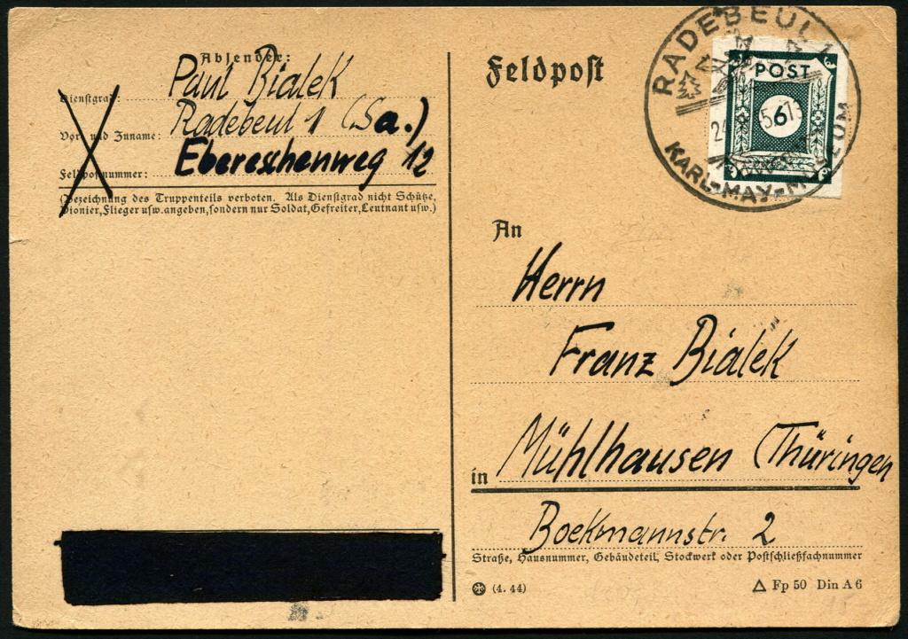 Ostsachsen (OPD Dresden) -Sowjetische Besatzungszone- - Seite 15 Radebe11