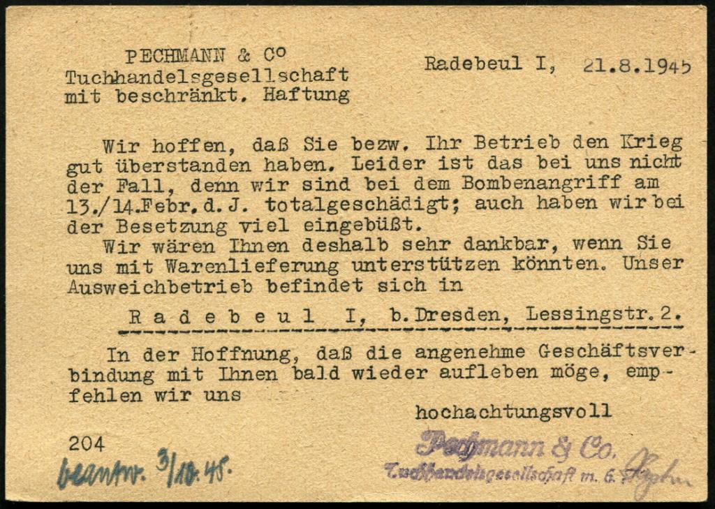 Ostsachsen (OPD Dresden) -Sowjetische Besatzungszone- - Seite 17 Radebe13