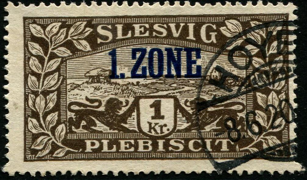 Schleswig Mi#26b Schles10