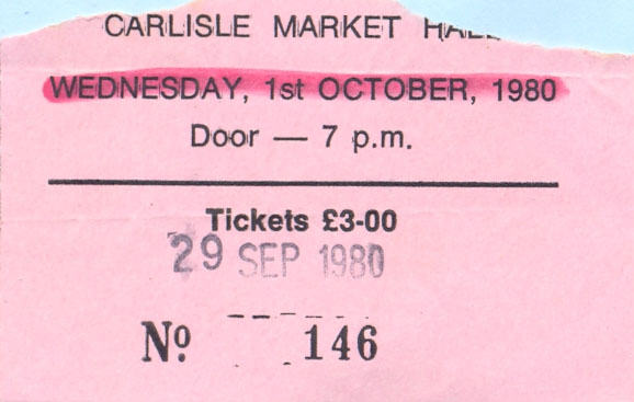Photos de Fenderbass - Carlisle Market Hall - Carlisle (UK) - 29 septembre 1980 Carlis13