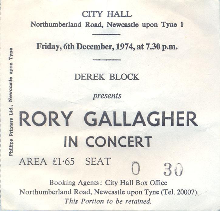 Photos de Fenderbass - City Hall - Newcastle (UK) - 6 décembre 1974 Newcas10
