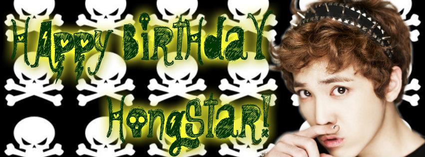 생일 축하해요 홍스타! Happy Birthday Hongstar!  Happyb10