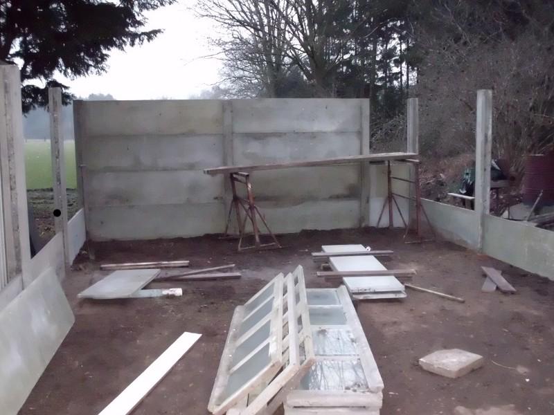 Construction d'un nouvel atelier comme détente Constr14
