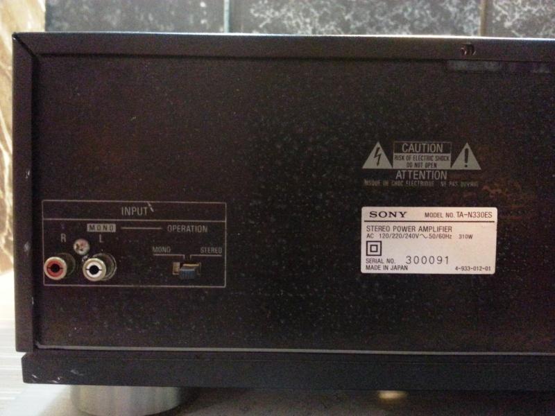 WTS - Sony TA-E1000ESD & TA-N330ES (retract) 20130833