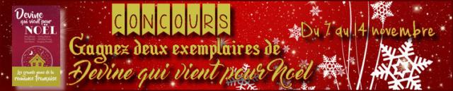 Concours - Gagnez deux exemplaires de Devine qui vient pour Noël !  Concou11