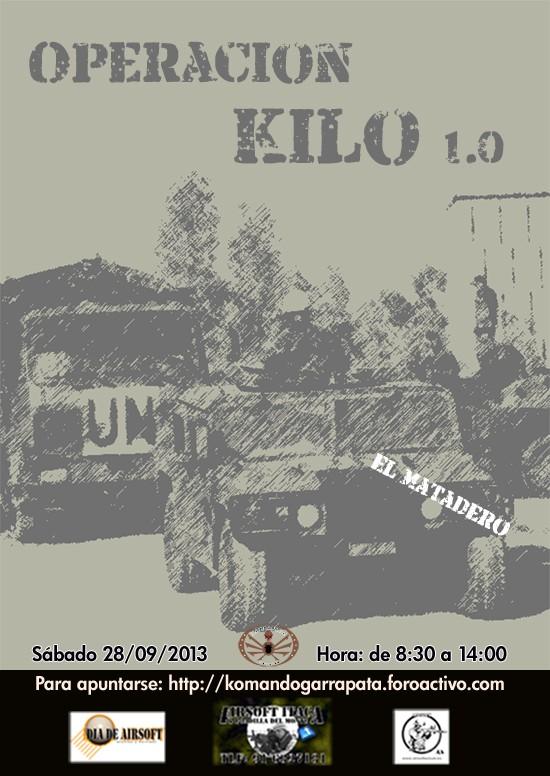 Operación KILO 1.0 (sábado 28/09/2013) El Matadero Operac10