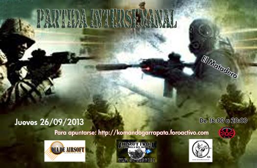 PARTIDA INTERSEMANAL (Jueves 26/09/2013) El Matadero Partid14