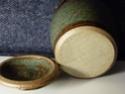 Studio lidded jar - David Wadsworth, Alfreton, Derbyshire  P1000711