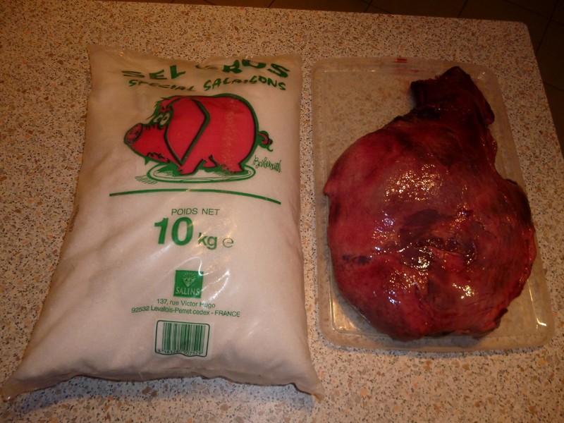 faire un jambon de sanglier P1000934