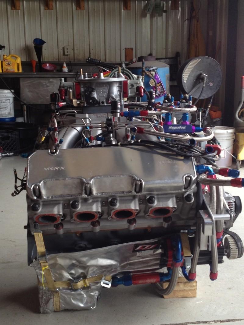 653 CI Thor Headed big block Ford engine / ENGINE SOLD THANKS!!!!!
