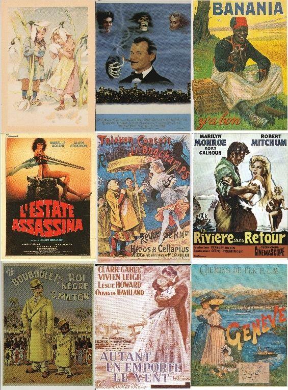 Cartes Postales d'Affiches de Cinéma et de Publicité - Portail Forum_11