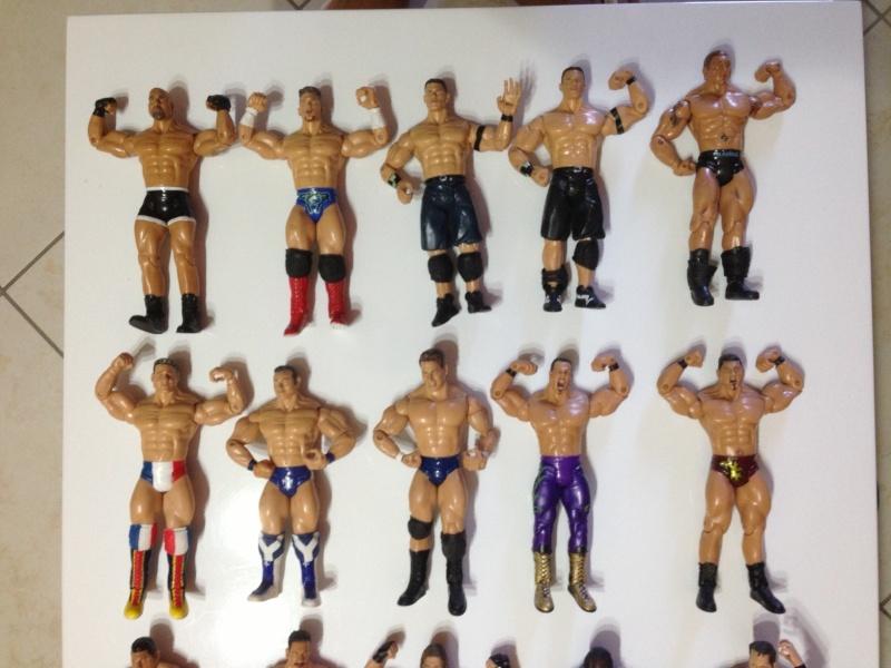 Lotto 2 Wrestlers WWE Jaaks Pacific W2_110