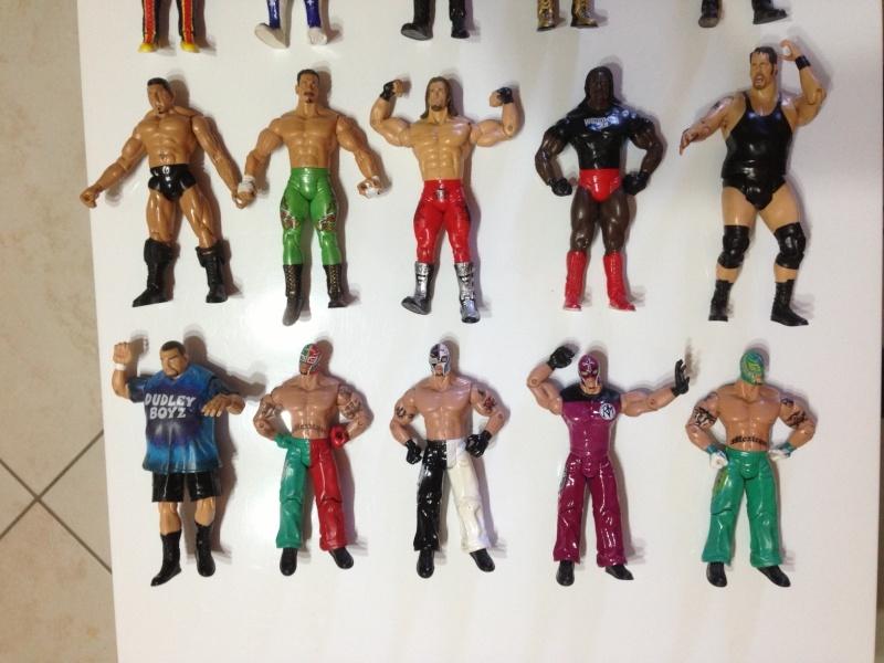 Lotto 2 Wrestlers WWE Jaaks Pacific W2_210