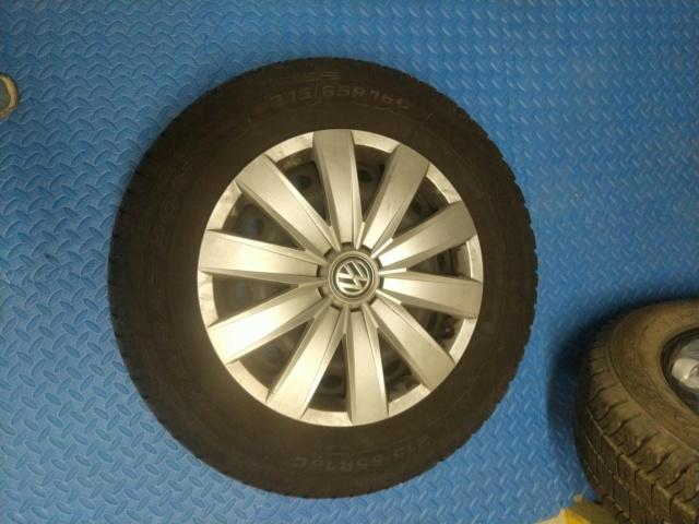 """Vente 4 roues 16"""" et autres pièces Pneu210"""