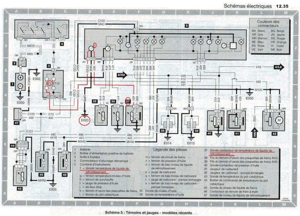 Sonde température liquide refroidissement 12_3510