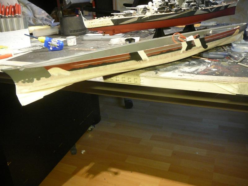 Eliminator´s Geschenk wird gebaut...1:350er RC Bismarck P1120956