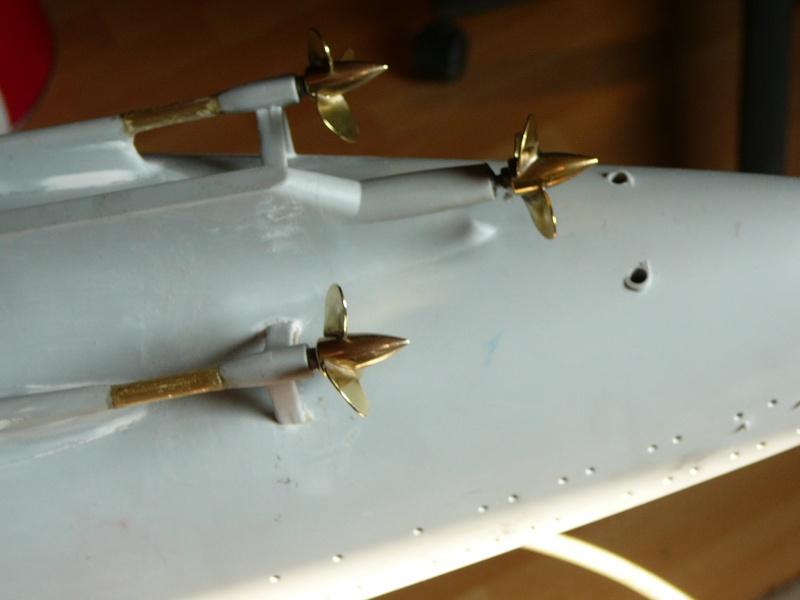 1:200 Bismarck von Trumpeter, nun auch bei mir auf der Werkbank P1130032